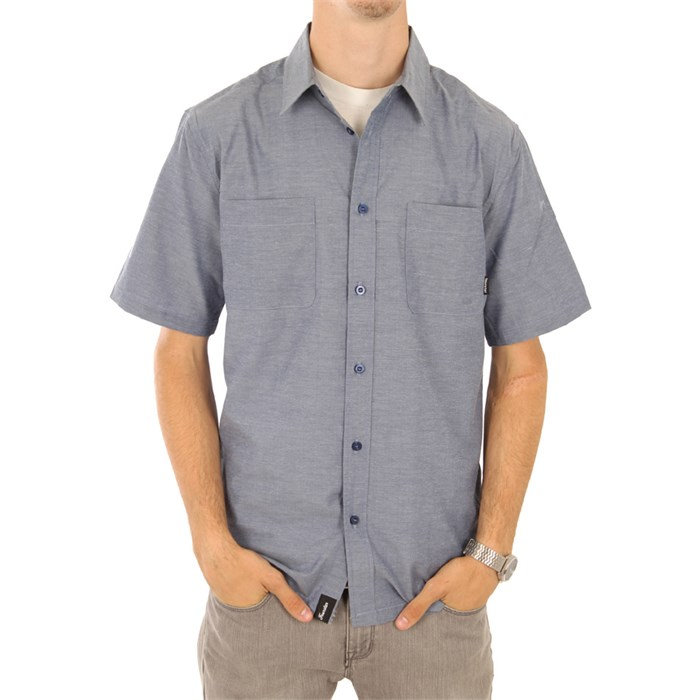 Fourstar - Hogan Short Sleeve Button Down Shirt