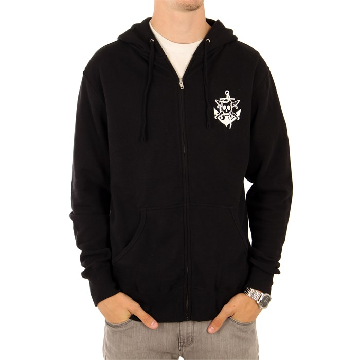 Fourstar - Pirate Anchor Zip Hoodie