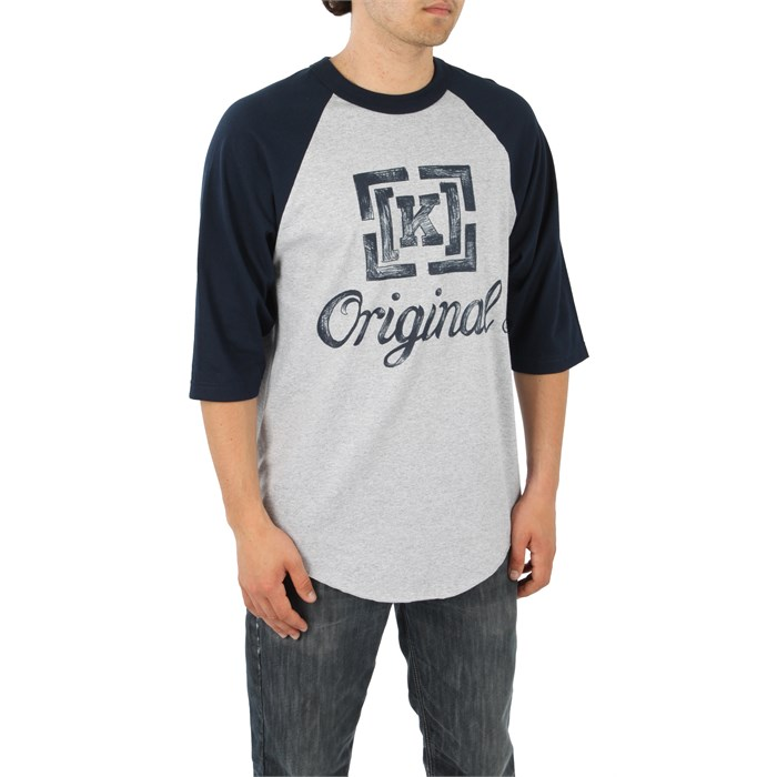 Kr3w - Chalk Baseball T Shirt