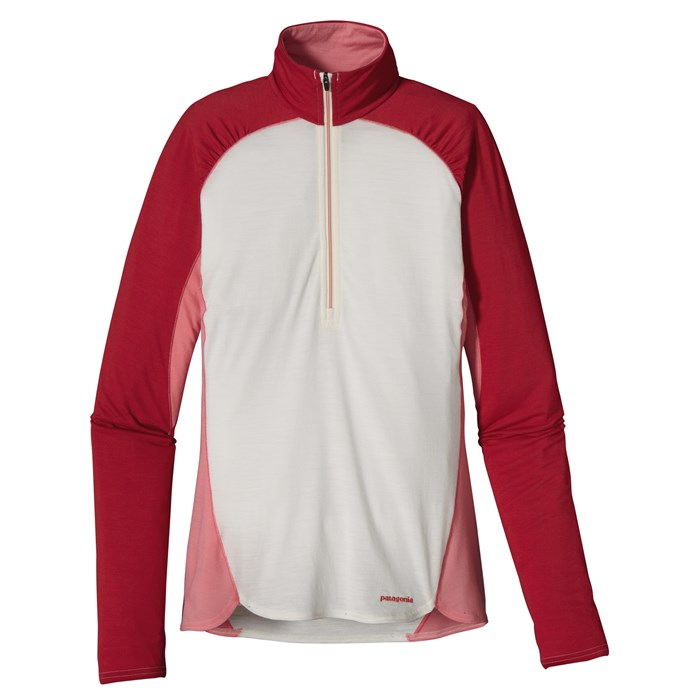 Patagonia - Merino 2 Lightweight Zip Neck Shirt - Women's