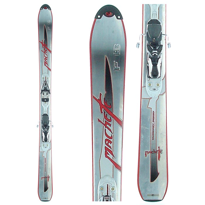 Volant - Machete FB Skis + Bindings - Used 2004