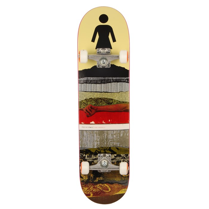 Girl - Rick Mccrank Cross Section Skateboard Complete