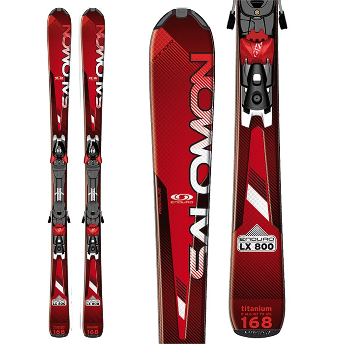 Salomon - Enduro LX 800 Skis + Z10 Bindings 2012