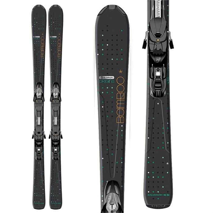 Salomon Origins Bamboo+Z10 TI (2013) Ski Mag