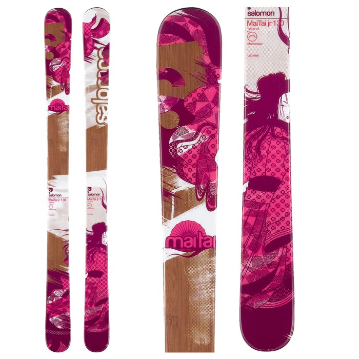 Salomon - Mai Tai Jr Skis - Youth 2012