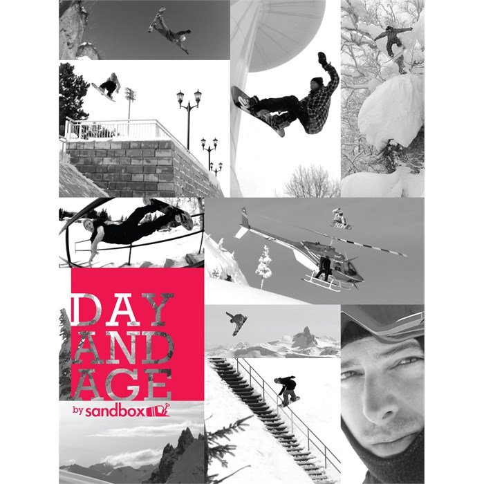 Sandbox - Day and Age Snowboard DVD & Blu-ray
