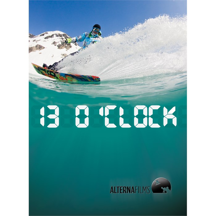 Alterna Films - 13 O'Clock Snowboard DVD & Blu-ray