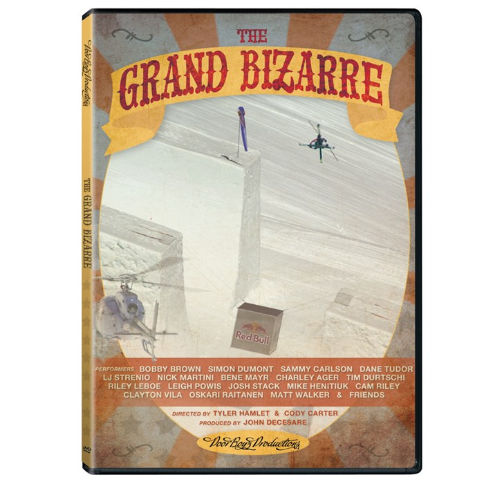 Poor Boyz Productions - The Grand Bizarre Ski DVD