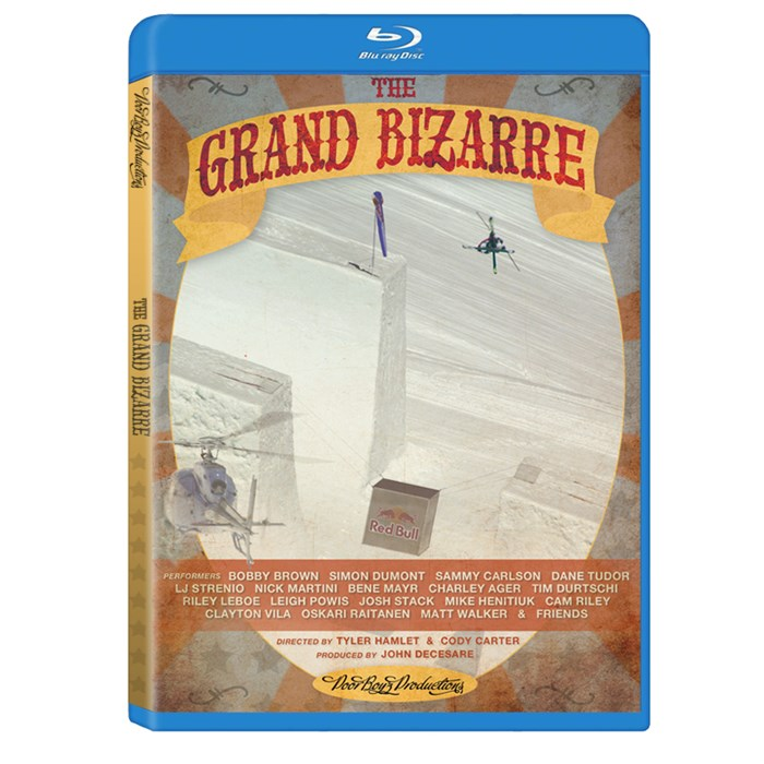 Poor Boyz Productions - The Grand Bizarre Ski Blu-ray