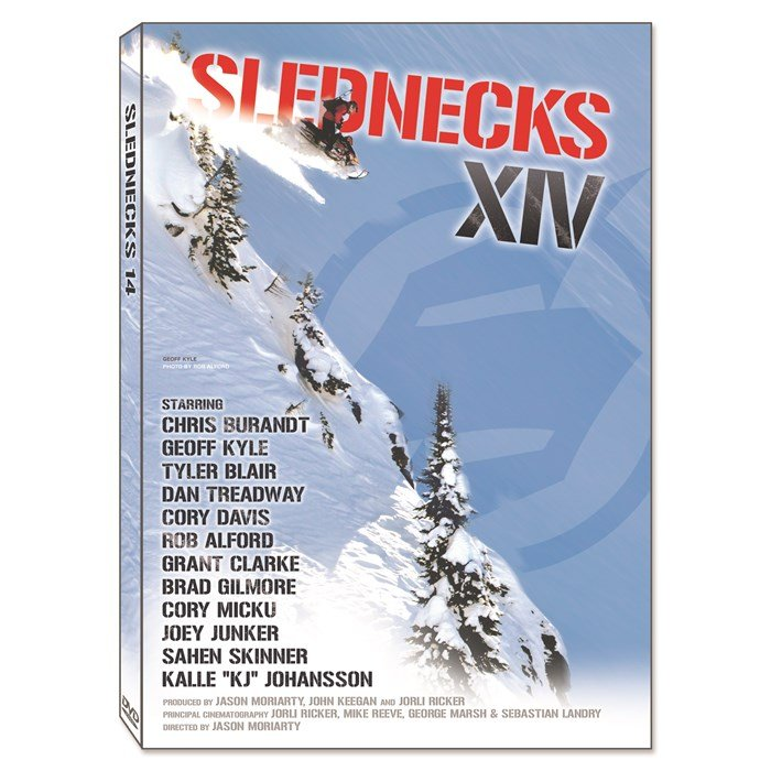 Slednecks - 14 Snowmobile DVD