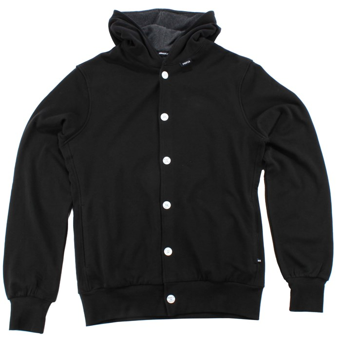 Makia - Makia Button Up Hoodie