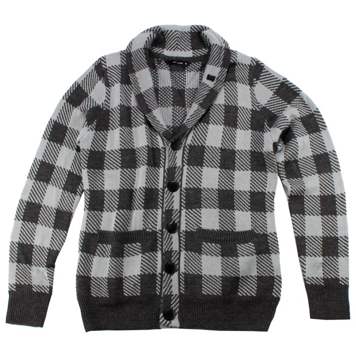 Makia - Jack Check Cardigan Sweater
