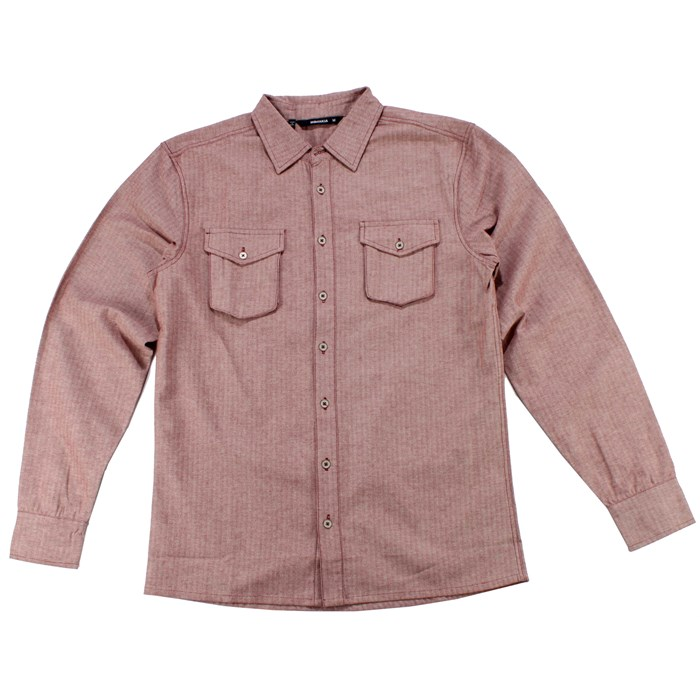 Makia - Herringbone Button Down Shirt