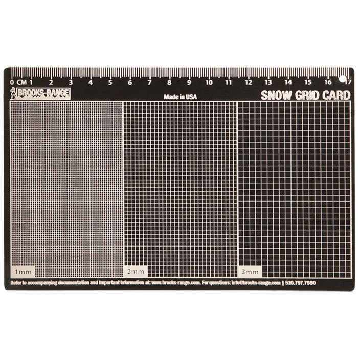 Brooks-Range - Snow Grid Card