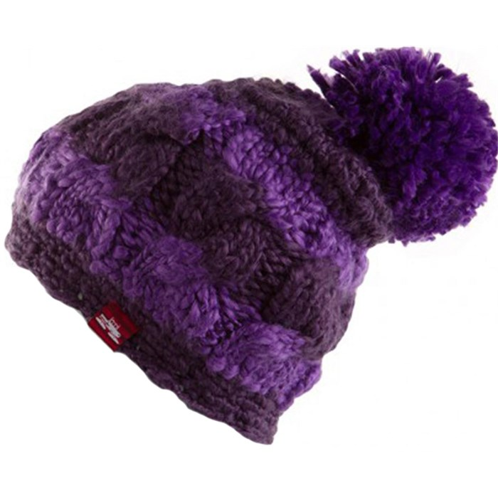 Spacecraft - Snuffle Pom Stripe Beanie - Women's