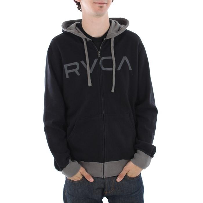 RVCA - Contrast Zip Hoodie