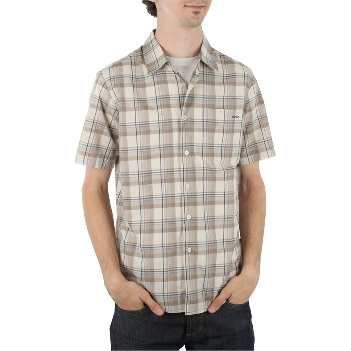 RVCA - Uncle Joe Short Sleeve Button Down Shirt
