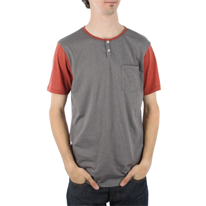 Analog - Pennant Short Sleeve Henley Shirt