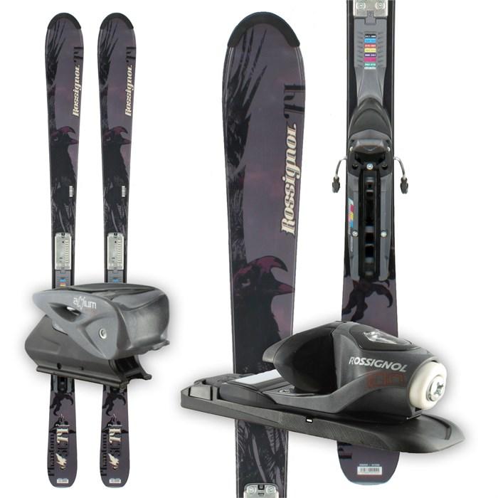 Rossignol Phantom 74 Skis + Axium 100 Bindings