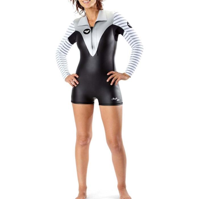 0e30b8830e Roxy - Kassia Meador 2mm Front Zip Spring Wetsuit - Women s ...