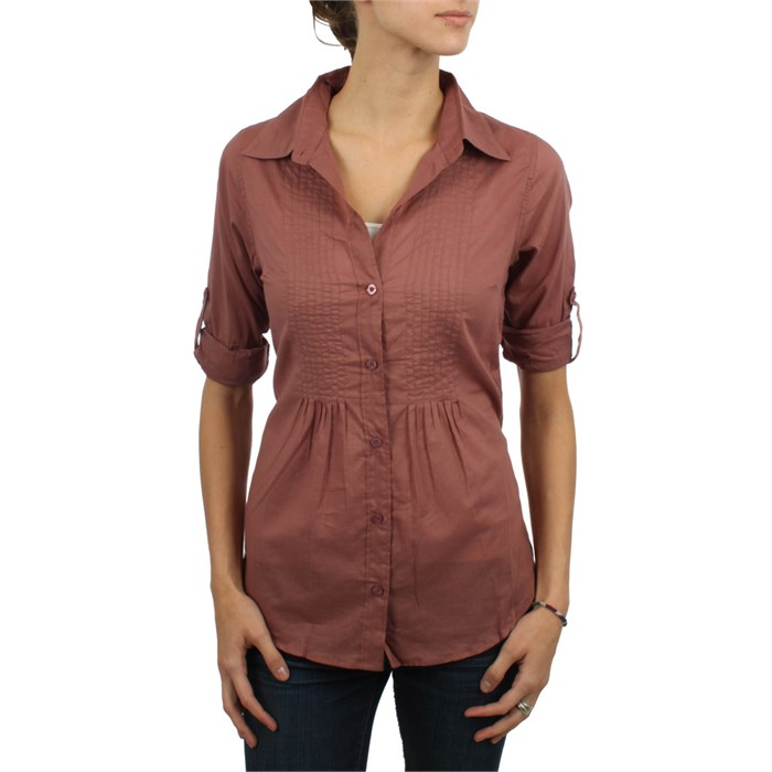 RVCA - La Fayette Button Down Shirt - Women's