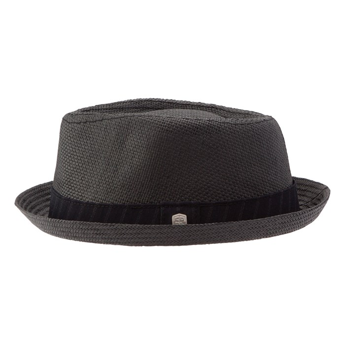 Coal - The Parker Paper Straw Hat