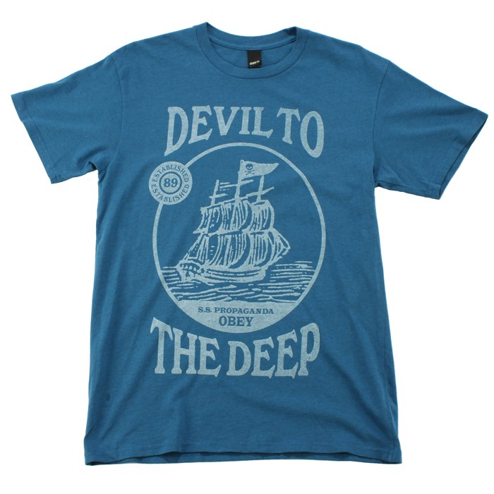 Obey Clothing - Devil To The Deep T Shirt