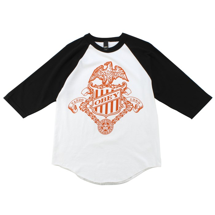 Obey Clothing - Eagle Badge Raglan Shirt