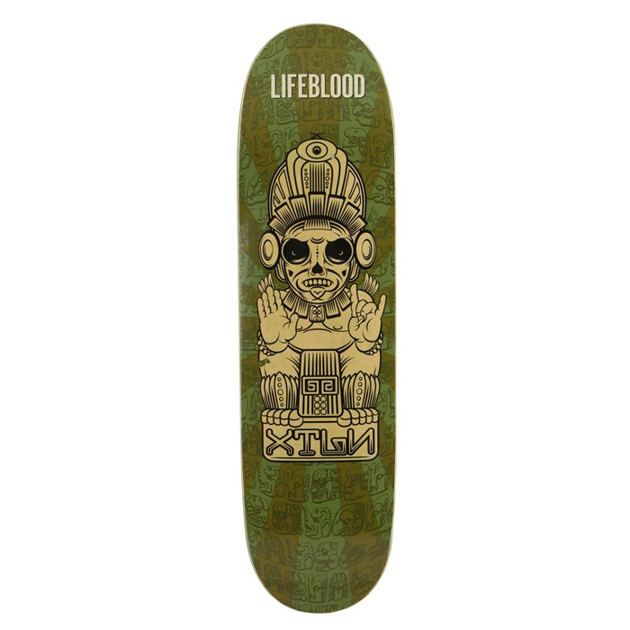 Lifeblood - Olmec Skateboard Deck