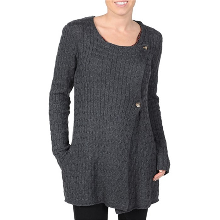Volcom - Twisted Sista Sweater Jacket - Women's