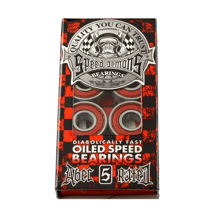 Speed Demons - Abec 5 Red Bearings