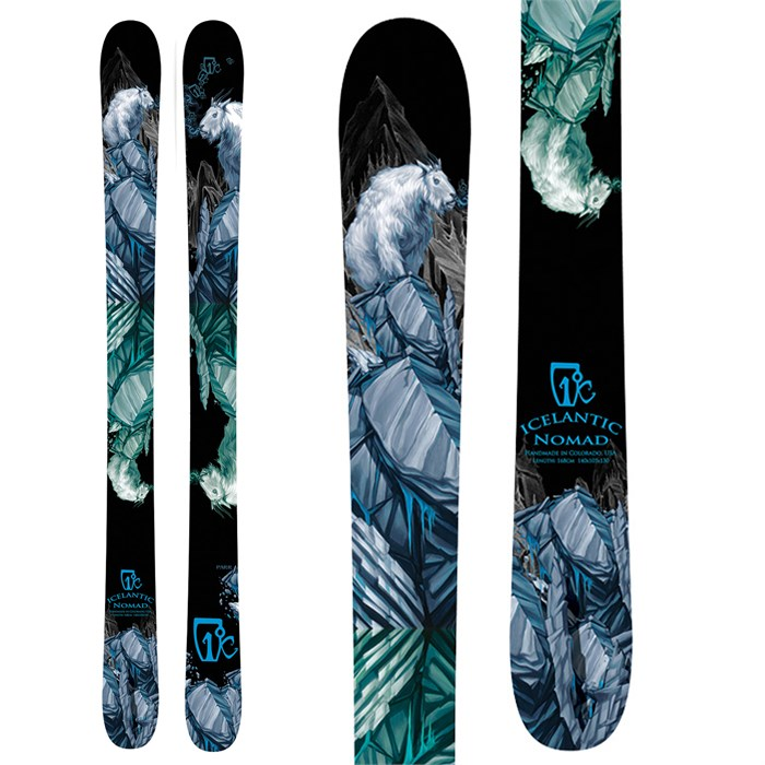 Icelantic - Nomad Skis 2012