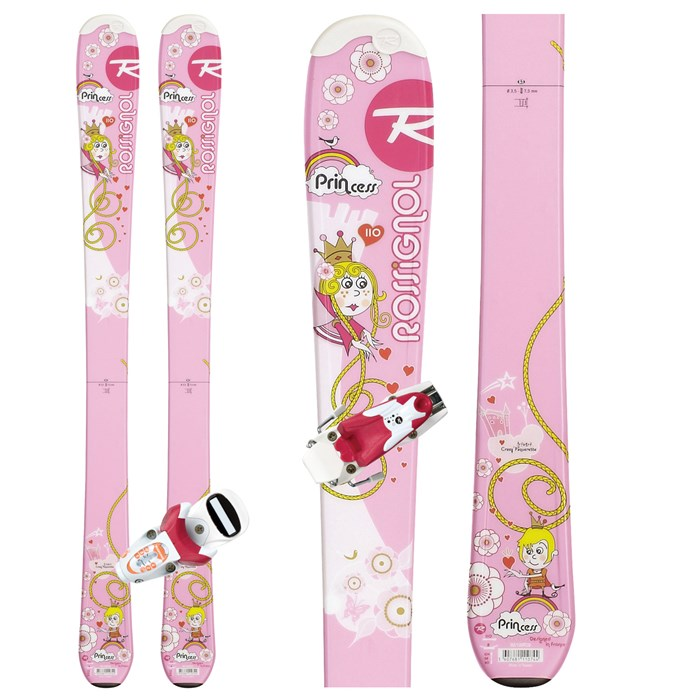 Rossignol - Princess Skis + Xelium Kid 45 Bindings - Youth 2012
