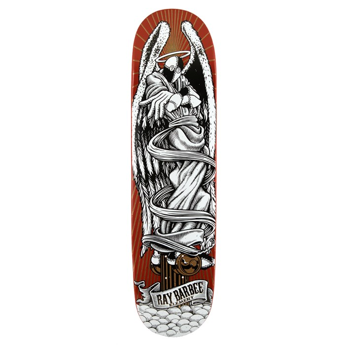 Element - Barbee Ascension Red Skateboard Deck