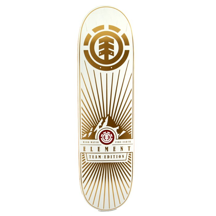 Element - Rocky Mountain White Skateboard
