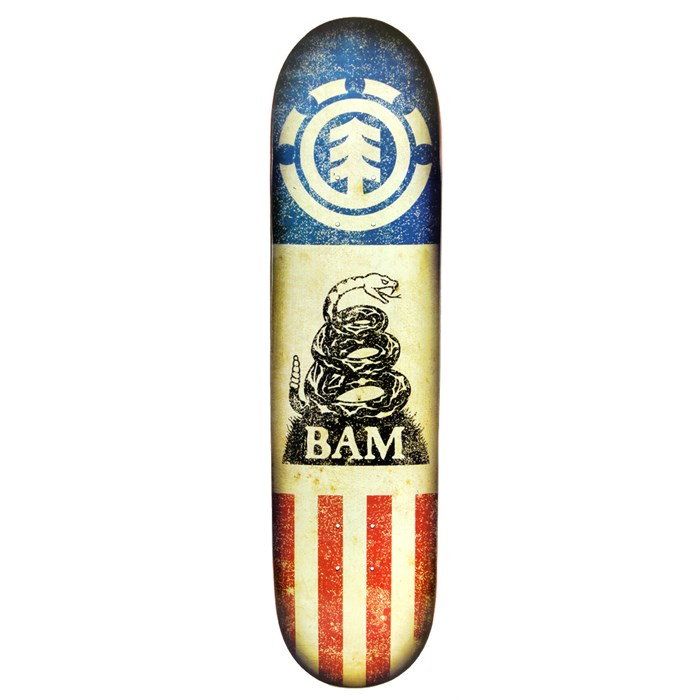 Element - Bam Independent Skateboard Deck