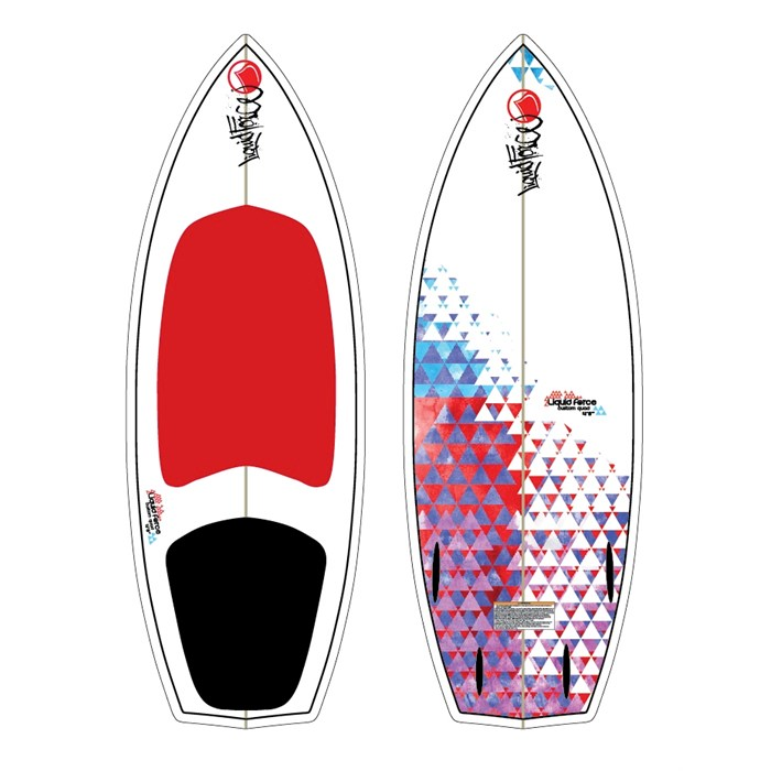 Liquid Force - Custom Quad Wakesurf Board 2012
