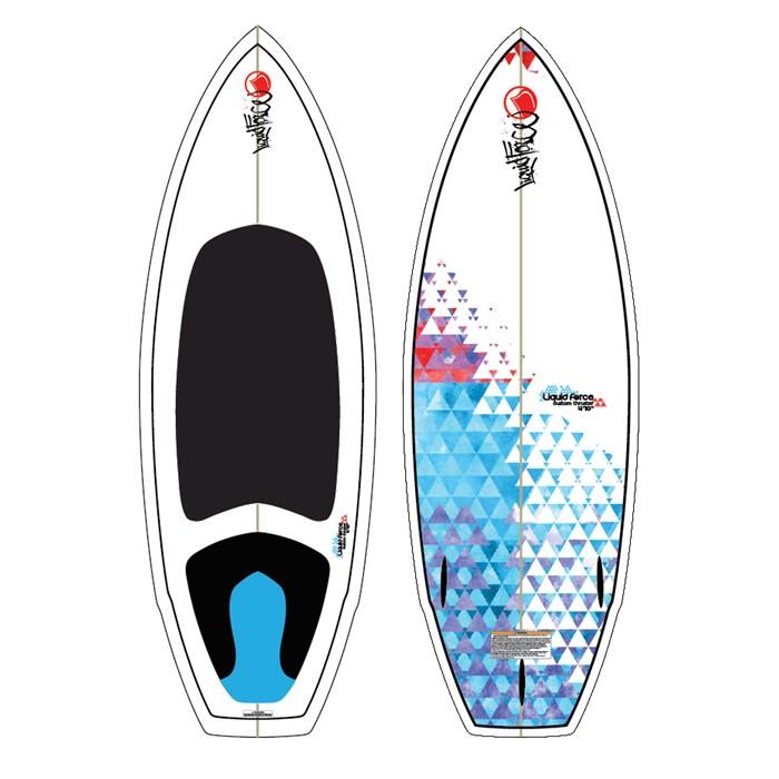 Liquid Force - Custom Thruster Wakesurf Board 2012