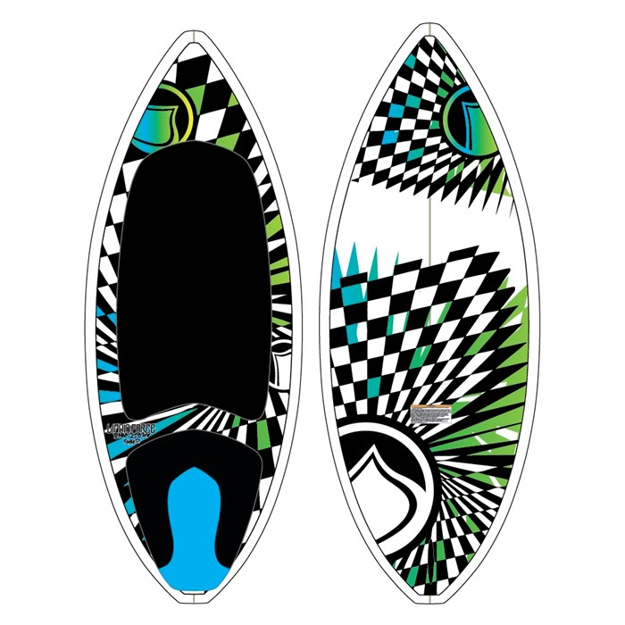 Liquid Force - Liquid Force TC Custom Skim Wakesurf Board 2012