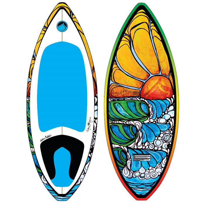 Liquid Force - Doum Skim Wakesurf Board 2012
