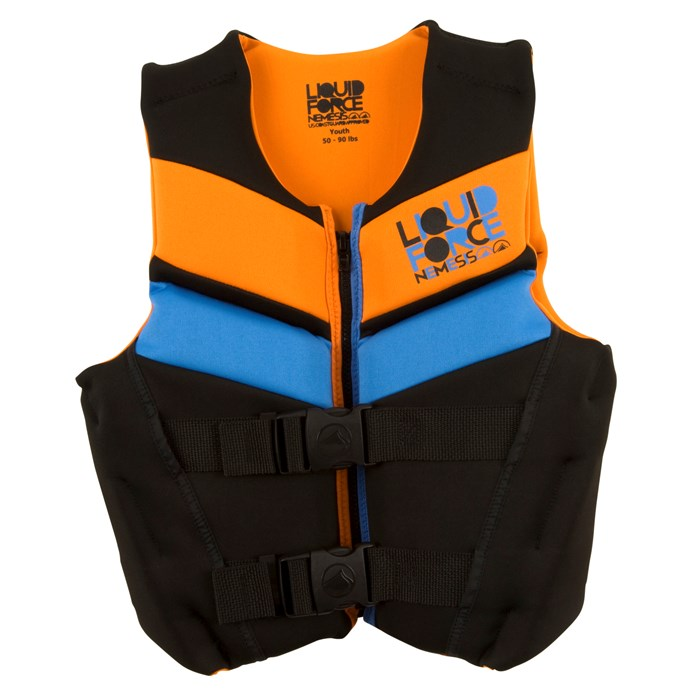 Liquid Force - Nemesis CGA Wakeboard Vest - Youth - Boy's 2012