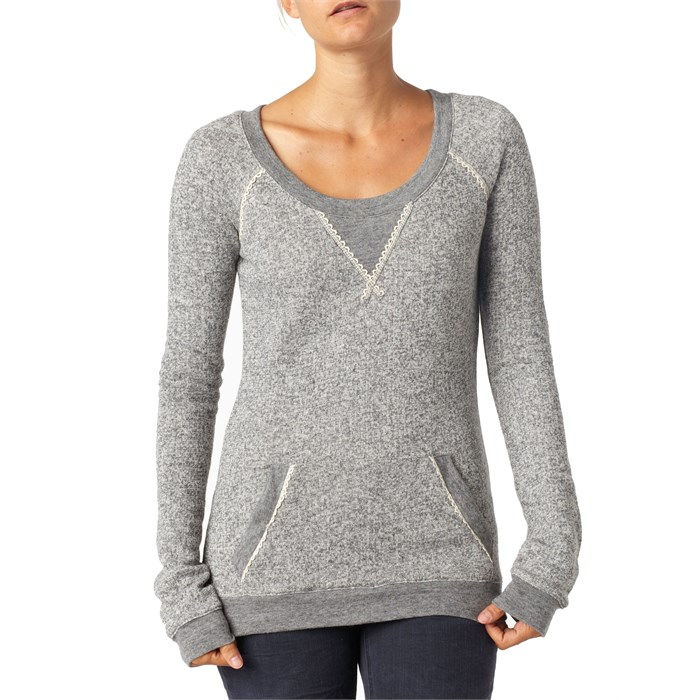 Quiksilver Lace Lounger Crew Neck Sweatshirt - Women's | evo