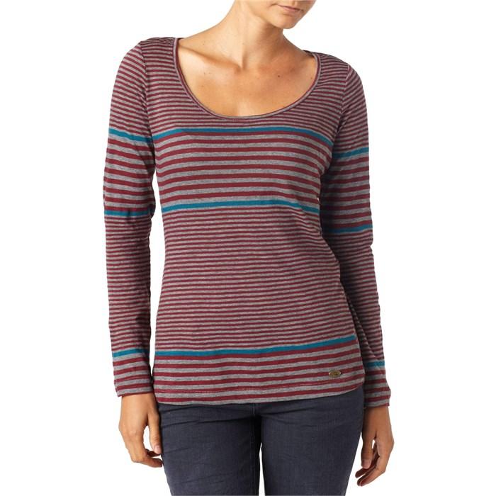 Quiksilver - Sidewalk Stripe Long Sleeve Top - Women's