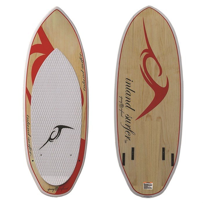 Inland Surfer - Red Rocket Pro Quad Wakesurf Board 2013