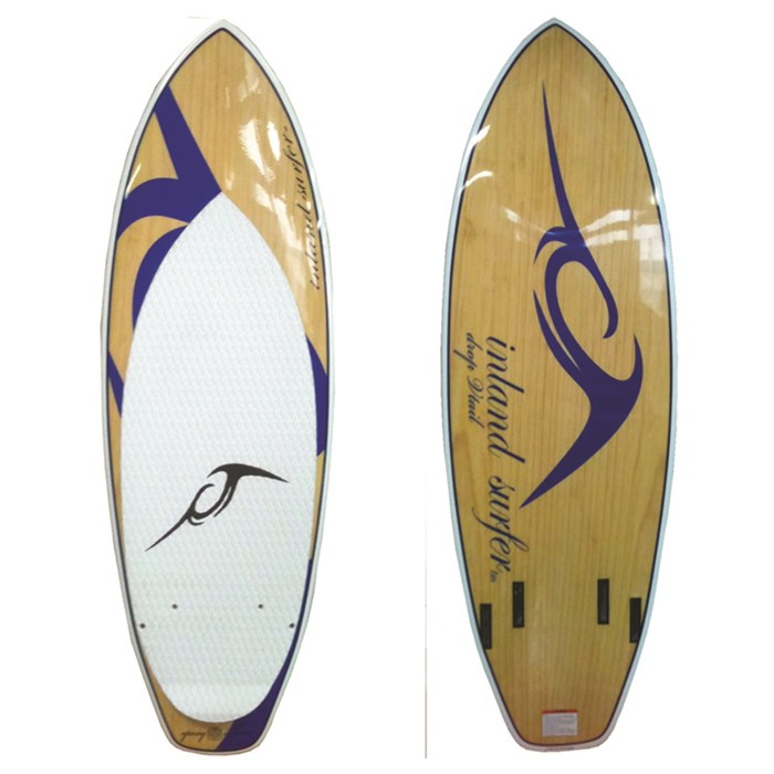 Inland Surfer - Blue Lake V2 Pro Quad Wakesurf  Board 2012