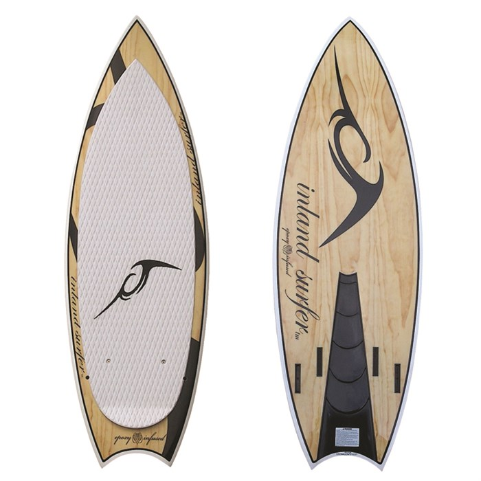 Inland Surfer - Swallow V2 Pro Quad Wakesurf Board 2012