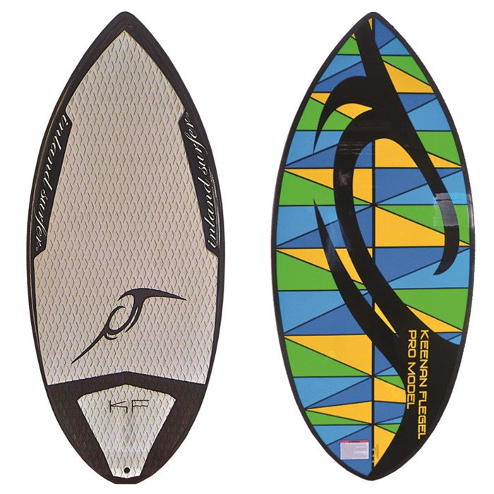 Inland Surfer - 4-Skim Keenan Pro Model Wakesurf Board 2012