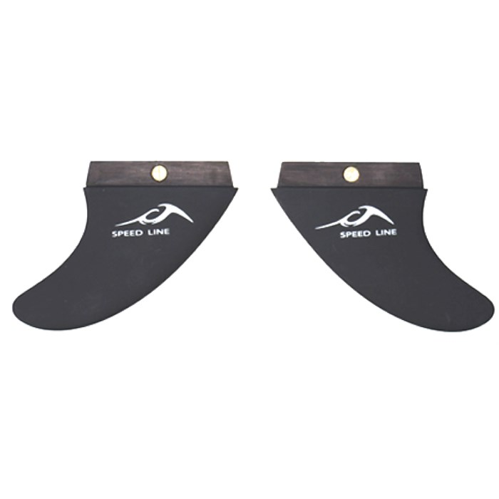 Inland Surfer - 3 Degree Wakesurf Fins 2012