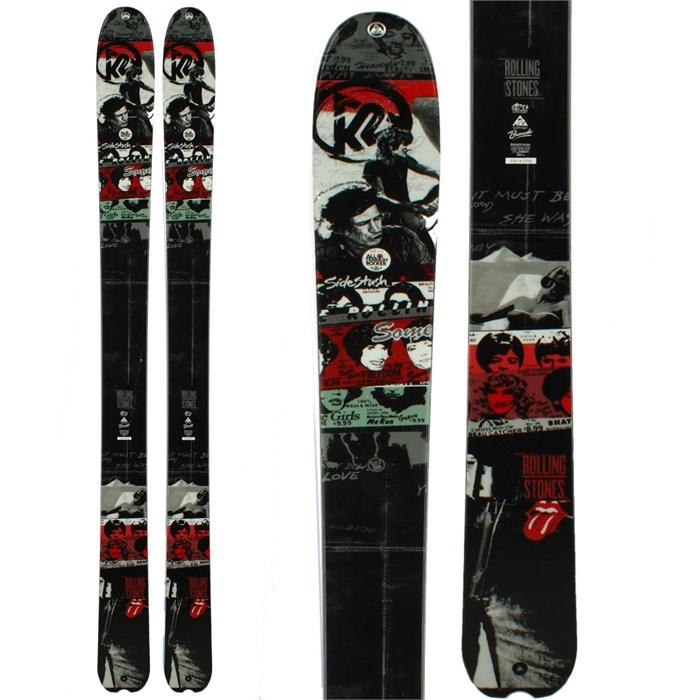 K2 - Rolling Stones SideStash Skis 2013