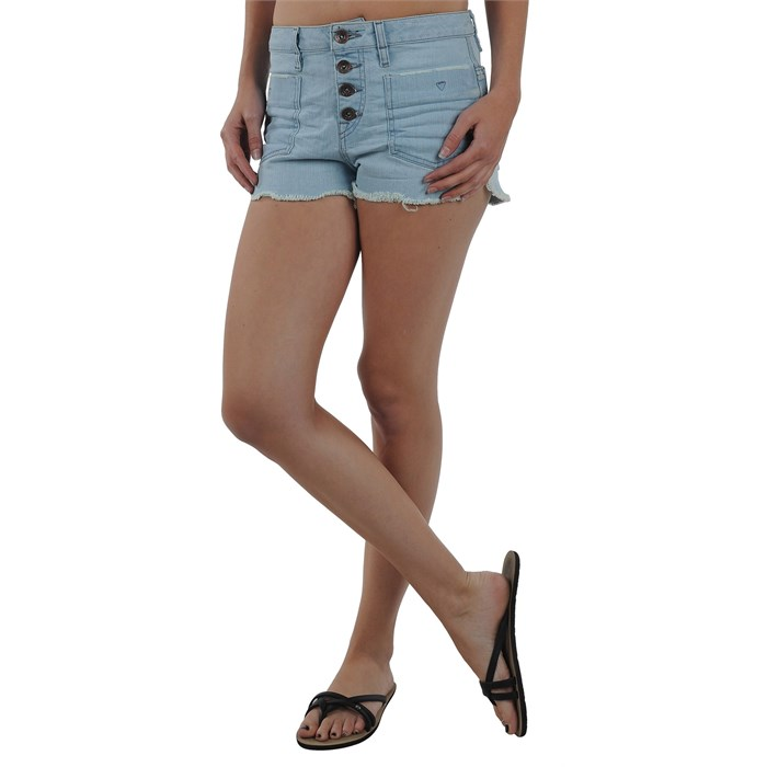 Volcom - High Tower Jean Shorts - Women's
